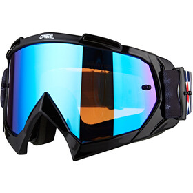O'Neal B-10 Gafas, warhawk black/gray-radium blue